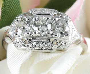 Estate Wedding Diamond Ring