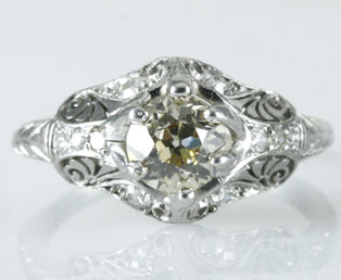 Antique Engagement Ring 1484