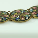 Antique Enamel Necklace