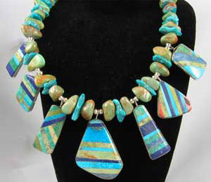 Artistic Turquoise Necklace