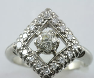 1930s Diamond Ring