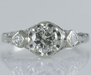 Estate Diamond Wedding Ring