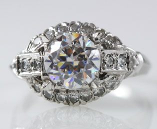 Estate Engagement Ring Mounting