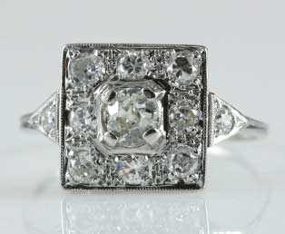 Art Deco Antique Ring