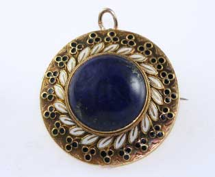 Antique Victorian Enamel Locket
