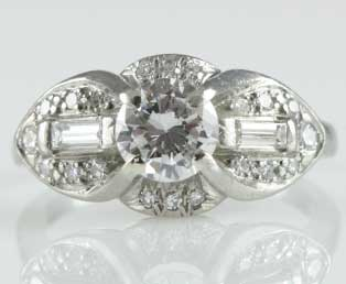 Estate Engagement Ring 1435