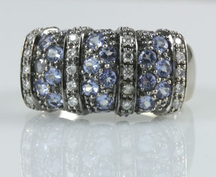 rings gold le ladies vian ring tanzanite diamond collections yellow products img levian trillion cut band