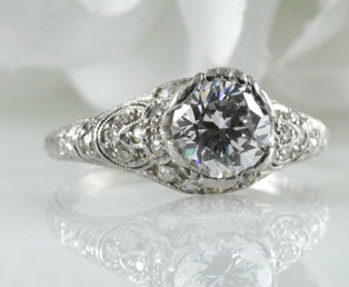 Antique Engagement Ring Mounting