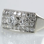 Ladies Estate 1Ct Wedding Band