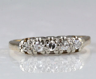 Vintage Traditional Wedding Ring