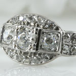 Antique Diamond Cocktail Ring