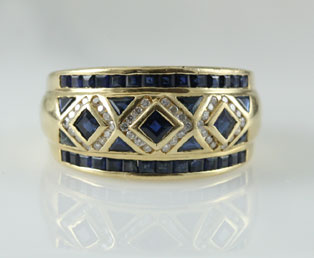 LeVian Vintage Sapphire Ring