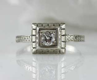 Belais Diamond Engagement Ring