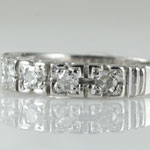 1940s Wedding Ring Platinum