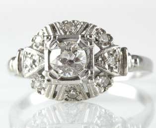 Antique Engagement Ring 5677