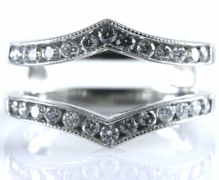 estate wedding ring guard - Wedding Ring Guard