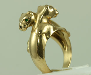 Cartier Double Panther Ring