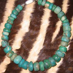 Unpolished Heavy Turquoise Necklace